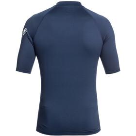 Quiksilver All Time Camiseta Manga Corta Hombre, majolica blue heather